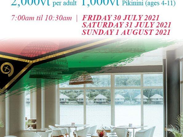Buffet Breakfast - Grand Hotel & Casino Vanuatu 5