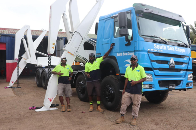 Vanuatu Business Review » South Sea Cargo welcomes new addition to fleet 9