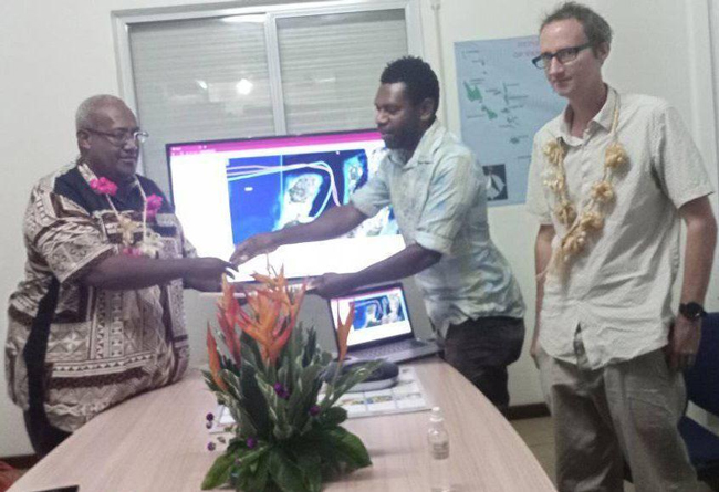 Vanuatu Business Review » GPS platform to enhance safety of vessels at sea 11